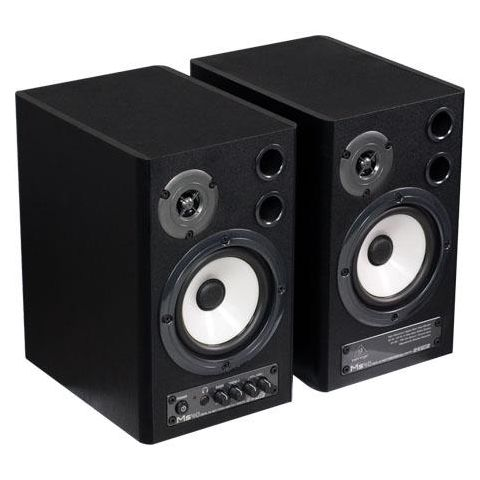 Behringer MS40 40-Watt Digital Stereo Nearfield Monitors, 24-bit/192kHz, SPDIF, Optical Inputs, Pair  by Behringer