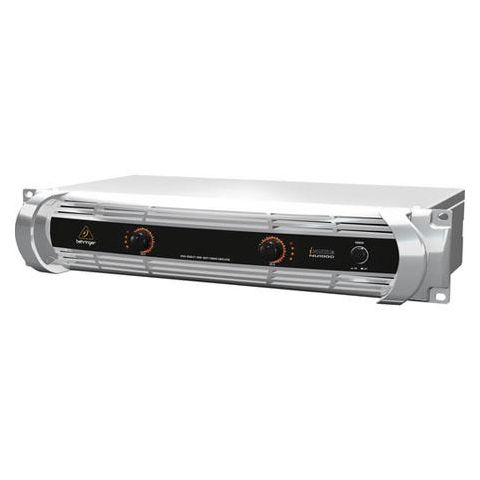 Behringer INUKE NU1000 Rackmount Stereo 1000-Watt Power Amplifier with DSP Control and USB Interface  by Behringer