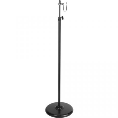 Altman Adjustable Light Stand with Round Base (5-9')