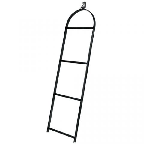 Altman 4 Rung Light Ladder with Heavy Duty Pipe Clamp by Altman