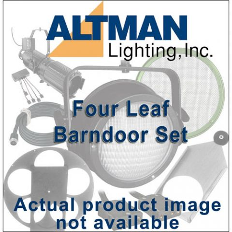 Altman Four Leaf Barndoor Set for IQUV-70, White by Altman