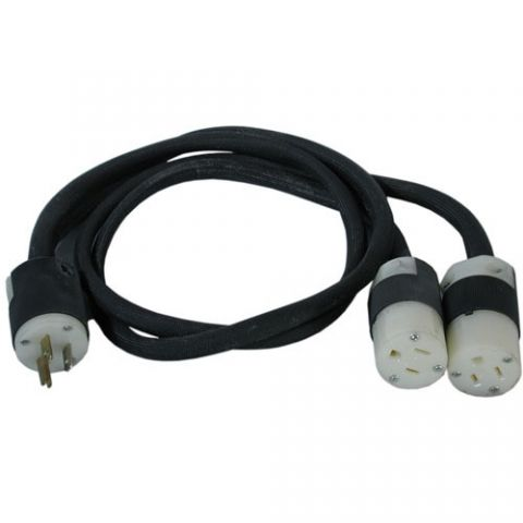 "Altman 2-Fer Edison Cable - 2 Female, 1 Male, 36"" - 20 Amps Each by Altman"