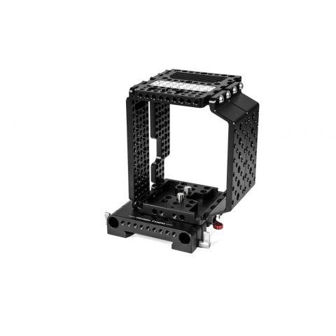 Wooden Camera - Cheese Cage + (15mm Studio) by Wooden Camera