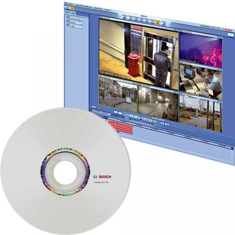 Bosch DBSR002 Dibos 8 Receiver CD/DVD Software Burning License & Documentation  by Bosch