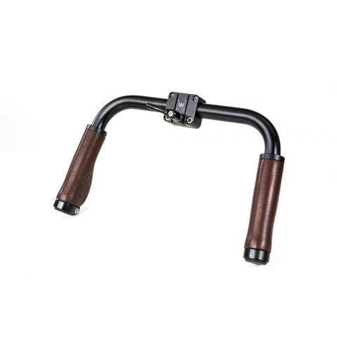 Wooden Camera - Handlebar (Brown Leather) by Wooden Camera