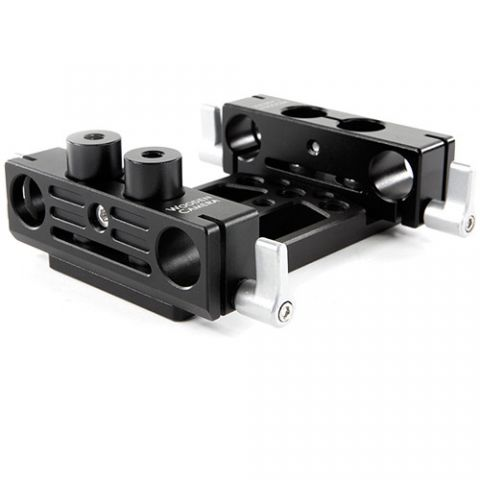 Wooden Camera - DSLR Dual 15mm Base by Wooden Camera