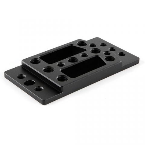 Wooden Camera - DSLR Dual Base (Plate Only) by Wooden Camera